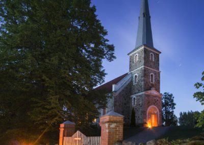 Mazirbes ev. luteriskā baznīca. Foto_ Ainars Gaidis